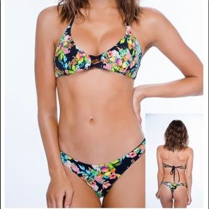 Brand New Chi Swimwear 2-piece bikini reversible